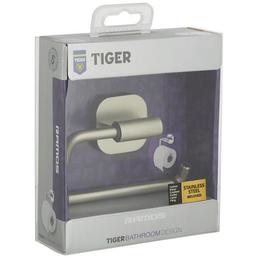 TIGER Toilettenpapierhalter »RAMOS«, silberfarben
