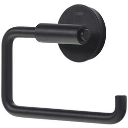 TIGER Toilettenpapierhalter »Urban«, BxHxT: 13,6 x 9,8 x 3,9 cm, schwarz