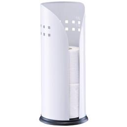 ZELLER Toilettenpapierhalter, weiß