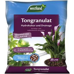 WESTLAND Tongranulat, Blähton, Drainage, Hydro, Braun, 25 l