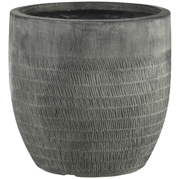 mica® decorations Topf »Mica Country Outdoor Pottery«, Breite: 31 cm, schwarz, Naturmaterial