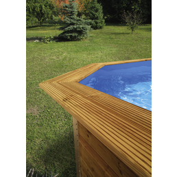 WEKA Toprail, Holz, geeignet für: Holzpools Nr. 1058848 und 1058847