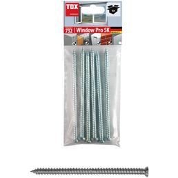 TOX Torx 30-Rahmenschraube, ØxL: 8 x 132 mm, Stahl, 6