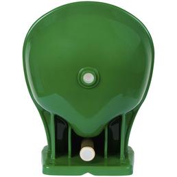 Tränkebecken, für Stall und Hof, aus Kunststoff, grün