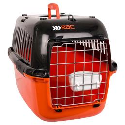Transportbox, BxHxT: 50 x 30 x 30 cm, schwarz/orange