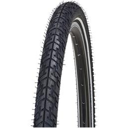 CONTINENTAL Trekking- und City-Fahrradreifen, mit Reflexstreifen und Pannenstopp, schwarz