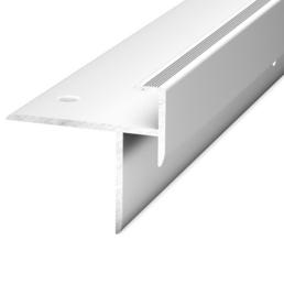CARL PRINZ Treppenkantenprofil, BxHxL: 38 x 40 x 1000 mm, silberfarben