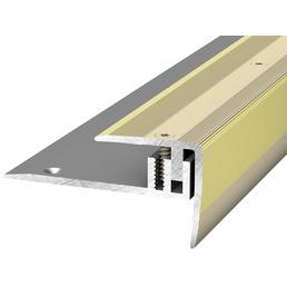 PRINZ Treppenkantenprofil »LPS 220«, sahara-beige, BxLxH: 27 x 1000 x 27 mm
