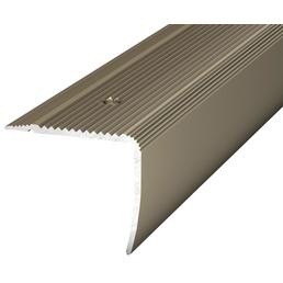 CARL PRINZ Treppenkantenprofil »NOVA«, BxHxL: 35 x 30 x 1000 mm, edelstahlfarben