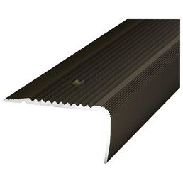 CARL PRINZ Treppenkantenprofil »NOVA«, BxHxL: 45 x 23 x 1000 mm, bronzefarben