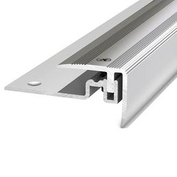 CARL PRINZ Treppenkantenprofil »PS 400«, BxHxL: 30 x 25 x 1000 mm, silberfarben