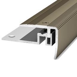 CARL PRINZ Treppenkantenprofil »PS 400«, BxHxL: 38 x 32 x 1000 mm, silberfarben