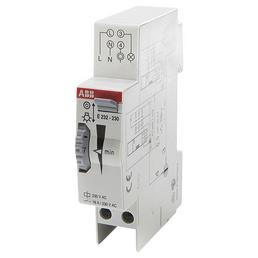 ABB Treppenlichtzeitschalter, 230 V, 16 A, 1 Schließer REG, Glühlampemleistung 2300 W, Grau