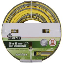 """MR. GARDENER Tricotgewebeschlauch »Classic Plus«, Ø 13  mm (1/2""""), Länge: 50  m"""