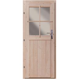 KARIBU Tür für Gartenhäuser, Holz