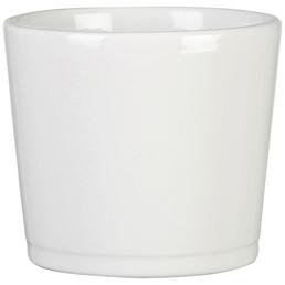 SCHEURICH Übertopf »BASIC«, Breite: 28 cm, weiß, Keramik