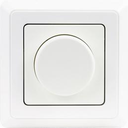 conexion Universaldimmer, Weiß, Kunststoff