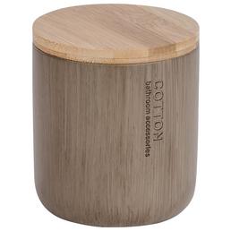 WENKO Universaldose, Bambus, taupe