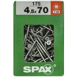 SPAX Universalschraube, 4,5 mm, Stahl, 175 Stk., TRX 4,5x70 XXL
