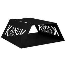 KANUK® Untergestell für Warmluftofen Kanuk Original 6,7 KW & 9,5 kW, BxL: 72 x 51,5 cm, Stahl
