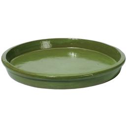 Kirschke Untersetzer »TerraDura glasiert«, Pistaziengrün