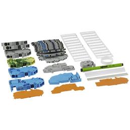 WAGO Unterverteiler-Set »TOPJOB® S«, Anschlüsse: Steckklemmen, Kunststoff