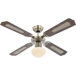 GLOBO LIGHTING Ventilator »CHAMPION«, 60 W, Ø 106,6 cm
