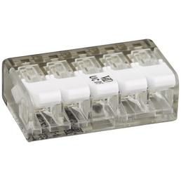 ViD Elektro Verbindungsklemme, UC, Kunststoff, Weiß/Transparent, Leiter mit Ø 0,2 – 4 mm²