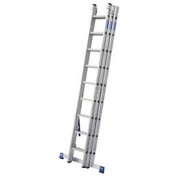 KRAUSE Vielzweckleiter »STABILO«, Anzahl Sprossen: 27, Aluminium