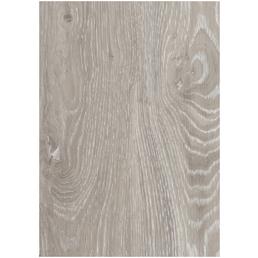 DECOLIFE Vinylboden, Holz-Optik, hellgrau, BxL: 185 x 1220 mm