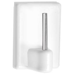 GECCO Vitragenhäkchen, Kunststoff, weiß, Ø1,75mm