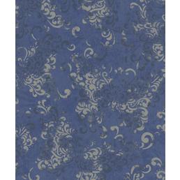 Vliestapete »Catania«, blau, glatt