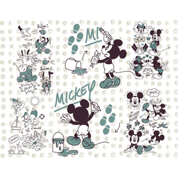Vliestapete »Mickey and Friends«, bunt, glatt