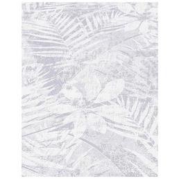 Guido Maria Kretschmer Vliestapete, silbergrau, Blätter, matt