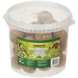 GARTENKRONE Vogelfutter »Meisenknödel ohne Netz«, 1 Eimer à 2550 g