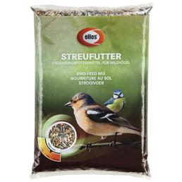ELLES Vogelfutter »Streufutter«, 6 Beutel à 2500 g