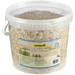 GARTENKRONE Vogelfutter »Terrassenmix«, Getreide, 3 kg
