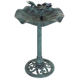 Vogeltränke, Höhe: 82  cm, Kunststoff, grün