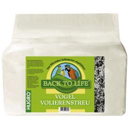 HUGRO Volierenstreu »Back to Life«, 1 Beutel, 10,53 kg