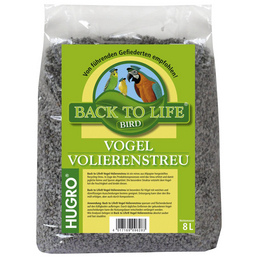 HUGRO Volierenstreu »Back to Life«, 1 Beutel, 1,54 kg