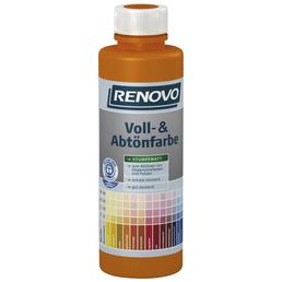 RENOVO Voll- und Abtönfarbe, braun, 500 ml
