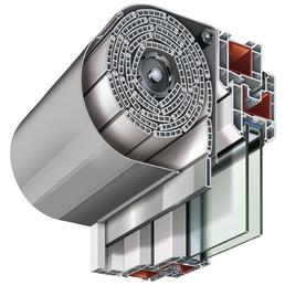 RORO Vorbaurollladen »Vorbaurollladen«, geeignet für Fenster BxH: 100 x100 cm, weiß