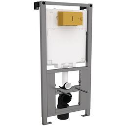 SANITOP-WINGENROTH Vorwandelement, BxHxT: 500 x 1150 x 180 mm, grau/weiß