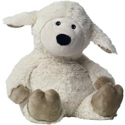 Warmies Wärmestofftier »Beddy Bear«, Schaf, BxH: 16 x 7 cm, Polyester/Hirse/Lavendel, beige