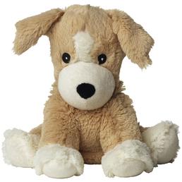 Warmies Wärmestofftier »Beddy Bear«, Welpe, BxH: 11 x 11 cm, Polyester/Hirse/Lavendel, braun/weiß