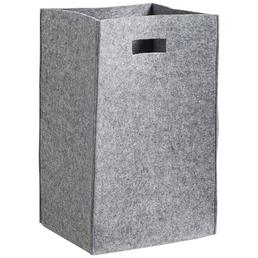 ZELLER Wäschesammler, BxHxL: 30 x 55 x 35 cm, Filz