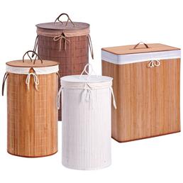 ZELLER Wäschesammler, Höhe: 60 cm, Bambus