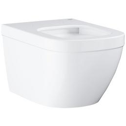 GROHE Wand WC »Euro«, Tiefspüler, alpinweiß, spülrandlos