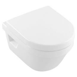 VILLEROY & BOCH Wand-WC-Komplettset »Architectura«, Tiefspüler, alpinweiß, spülrandlos