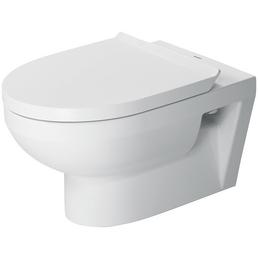 DURAVIT Wand-WC-Komplettset »DuraStyle Basic rimless«, Tiefspüler, weiß, spülrandlos